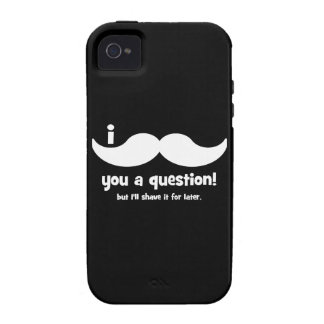 I mustache you a question iPhone 4/4S covers