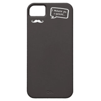 i mustache you a question mini gray barely there iPhone 5 case