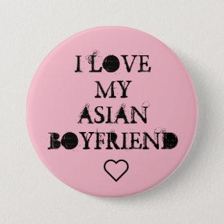 I  ❤ My Asian Boyfriend 7.5 Cm Round Badge