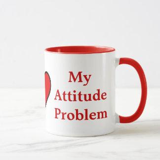 I ♥ My Attitude Problem Mug