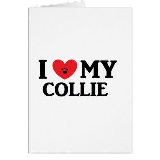 I ♥ My Collie Card