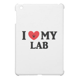 I ♥ My Lab iPad Mini Cover