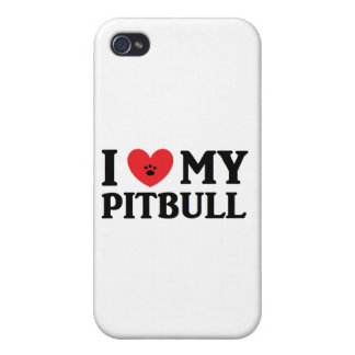 I ♥ My Pitbull Case For iPhone 4