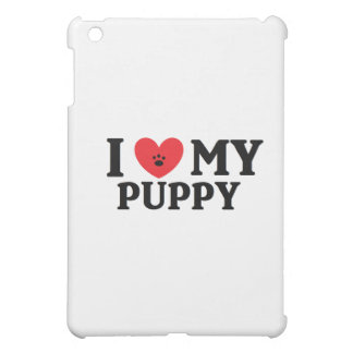 I ♥ My Puppy iPad Mini Cases