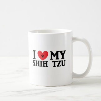 I ♥ My Shih Tzu Mugs