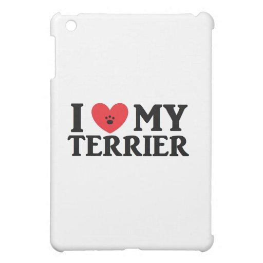 I ♥ My Terrier iPad Mini Cases