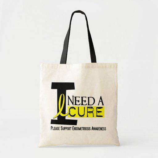 I Need A Cure 1 Endometriosis Bag