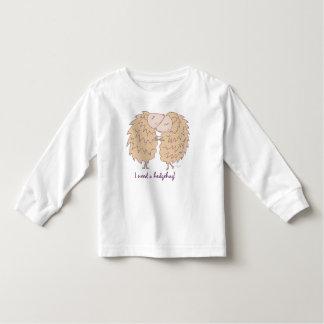 I need a hedgehug, t-shirt by idyl-wyld