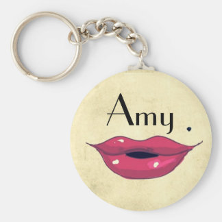 I need a KISS Basic Round Button Key Ring
