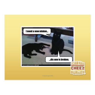 I need a new minion postcard