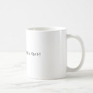I Need an HTML Break! Coffee Mug
