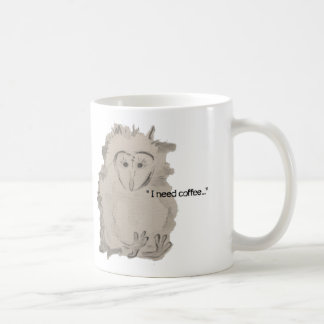 """I need Coffee""  MOD Meet Mug"