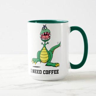 I Need Coffee Mug - Customisable