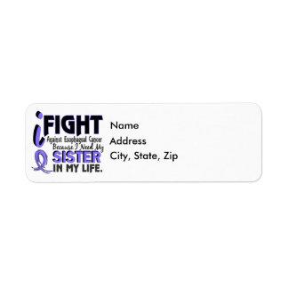 I Need My Sister Esophageal Cancer Return Address Label