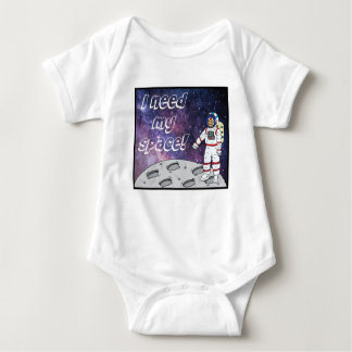 I need my space! baby bodysuit