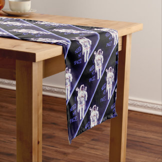 I Need My Space Short Table Runner