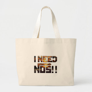 i need nos large tote bag