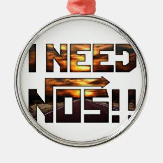 i need nos metal ornament