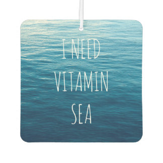 I NEED VITAMIN SEA - Car freshener. Car Air Freshener