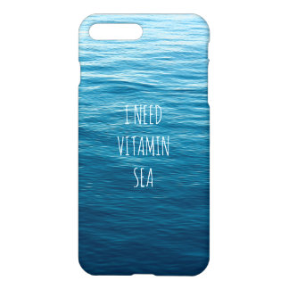 I NEED VITAMIN SEA - Case for IPhone X.
