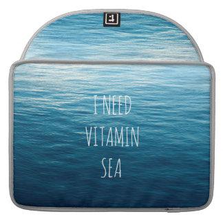 I NEED VITAMIN SEA - Rickshaw Macbook Sleeve. Sleeve For MacBook Pro