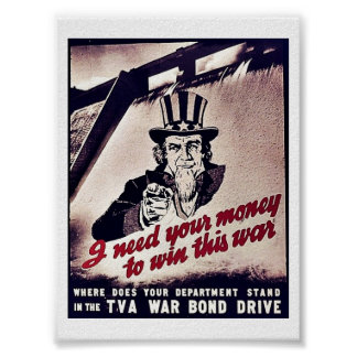 I Need Your Money To Win This War Print