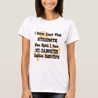 I Never Knew What...Daughter...RSD/CRPS...muscle T-Shirt