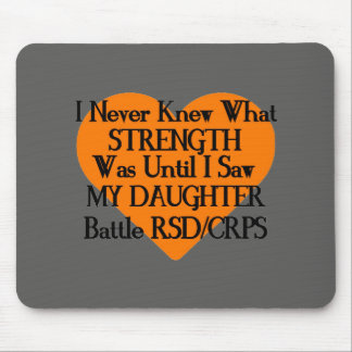 I Never Knew What Strength...Daughter...RSD/CRPS Mouse Pad