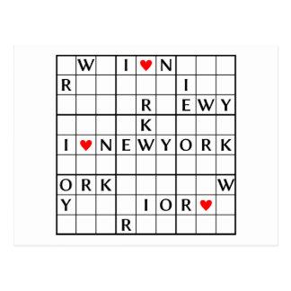 I♥NEWYORK POST CARD