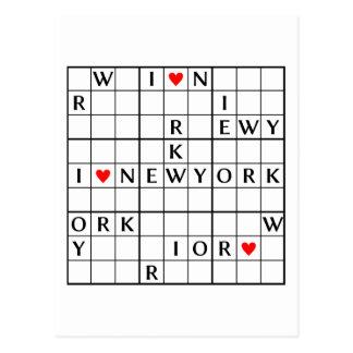 I♥NEWYORK POST CARDS