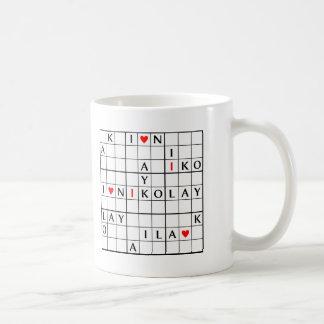 I♥NIKOLAY COFFEE MUG