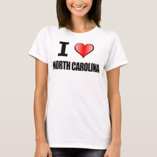 I ♥ North Carolina T-Shirt - Womens