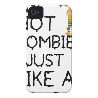 I NOT ZOMBIE I JUST LIKE A ZOMBIE(1) Case-Mate iPhone 4 CASE