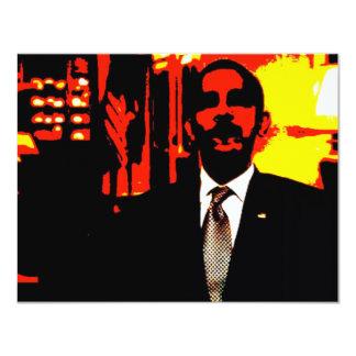 i,OBAMA: Narcissist-in-Chief 11 Cm X 14 Cm Invitation Card