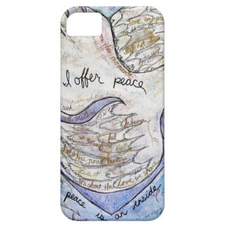 I offer peace barely there iPhone 5 case