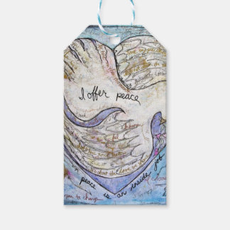 I offer peace gift tags