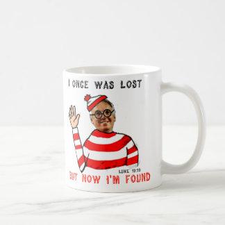 I once was Lost But Now I'm Found Wheres Waldo Mug