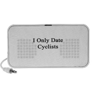 I Only Date Cyclists Notebook Speaker