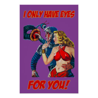 I Only Have Eyes For Your - Pulp Fiction Poster