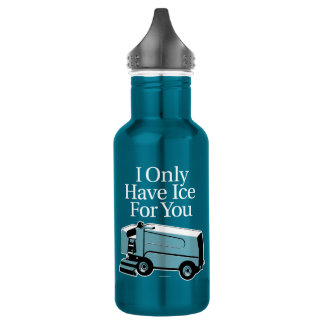 I Only Have Ice For You (Hockey) 532 Ml Water Bottle