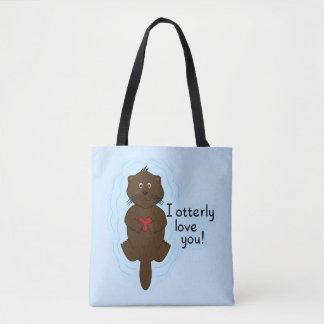 I Otterly Love You Tote Bag