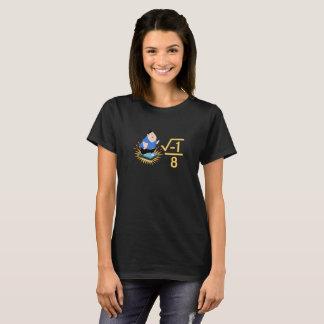 """i over 8"" I over ate Funny Math Teacher T-shirt"