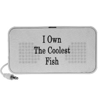 I Own The Coolest Fish Travelling Speakers