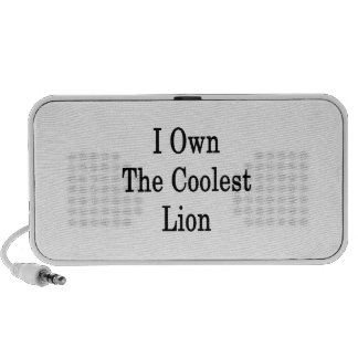 I Own The Coolest Lion Notebook Speaker