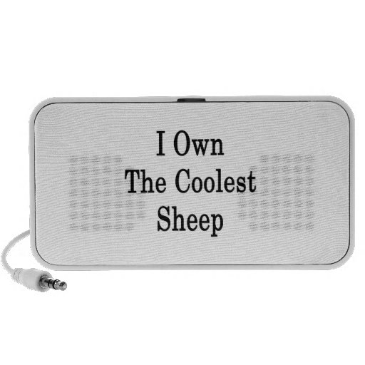 I Own The Coolest Sheep Travel Speakers