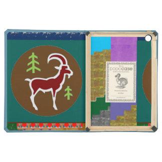 I PAD AIR ARTISTIC CARTOON ram animal wild zodiac Case For iPad Air