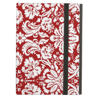 i Pad Red Damask Pattern iPad Air Cases