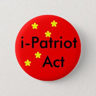 i Patriot Act 6 Cm Round Badge