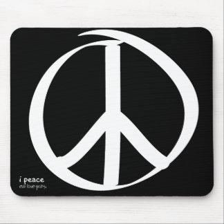 i peace - eat love pray mousepad