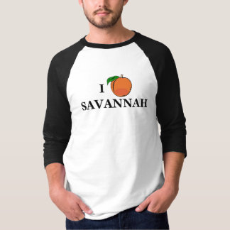 I Peach Savannah Jersey T-Shirt